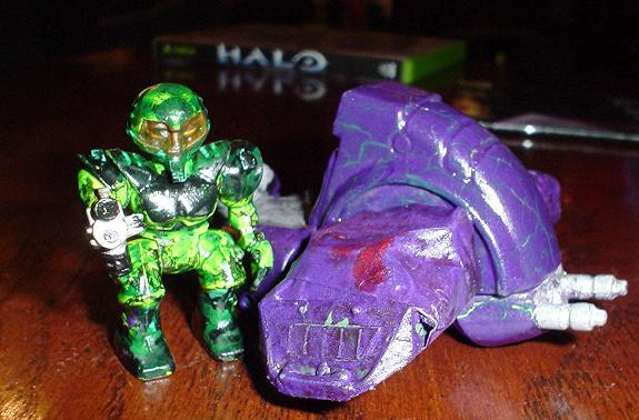 Master Chief near Ghost