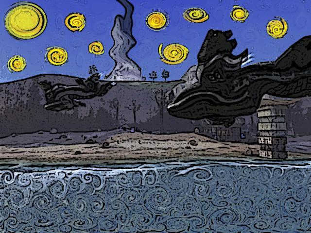 Van Gogh Halo